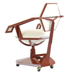 Price Tower Armchair By Frank Lloyd Wright Back