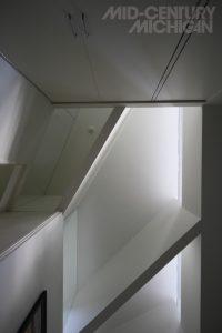 Gunnar Birkerts Freeman House Bedroom Ceiling