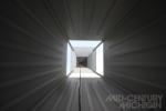 Gunnar Birkerts Freeman House Inverted Pyramid Ceiling 01