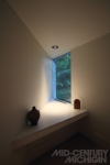 Gunnar Birkerts Freeman House Master Bedroom Window