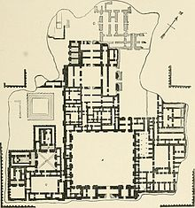 Plan Of Palace Of Sargon Khosrabad Reconstruction 1905