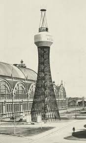 World's First Diagrid Hyperboloid Structure, Nizhny, Novogrod 1896