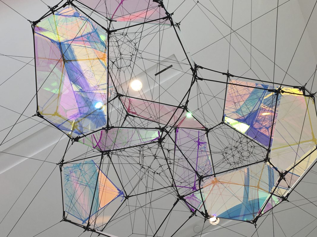 ENTANGLED ORBITS By TOMÁS SARACENO 2017