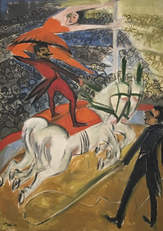 THE CIRCUS 1920 By Max Pechstein