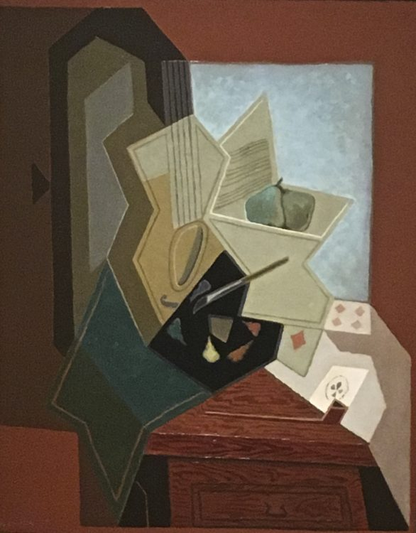 THE PAINTER'S WINDOW By Juan Gris 1928
