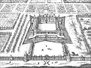 310px Versailles On The 1652 Map Of Paris By Gomboust Gallica 2012