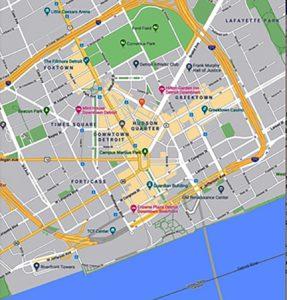 Portion Of Detroit Google Plan